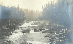 Picture of rapids on a river.