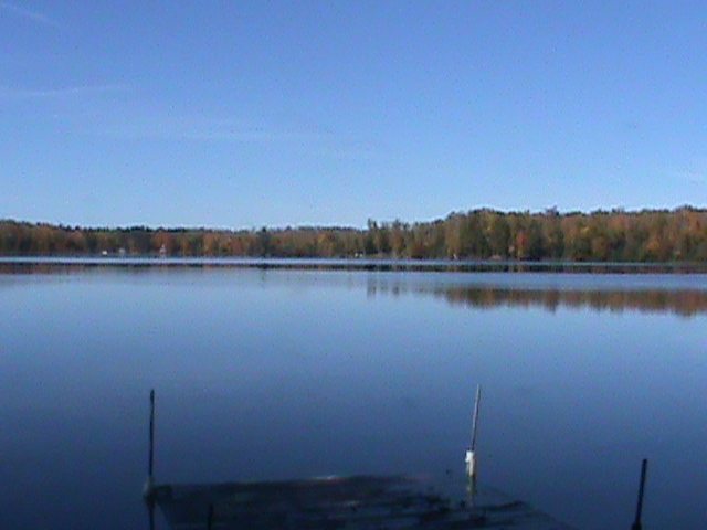 A picture of the lake in Wisconsin.